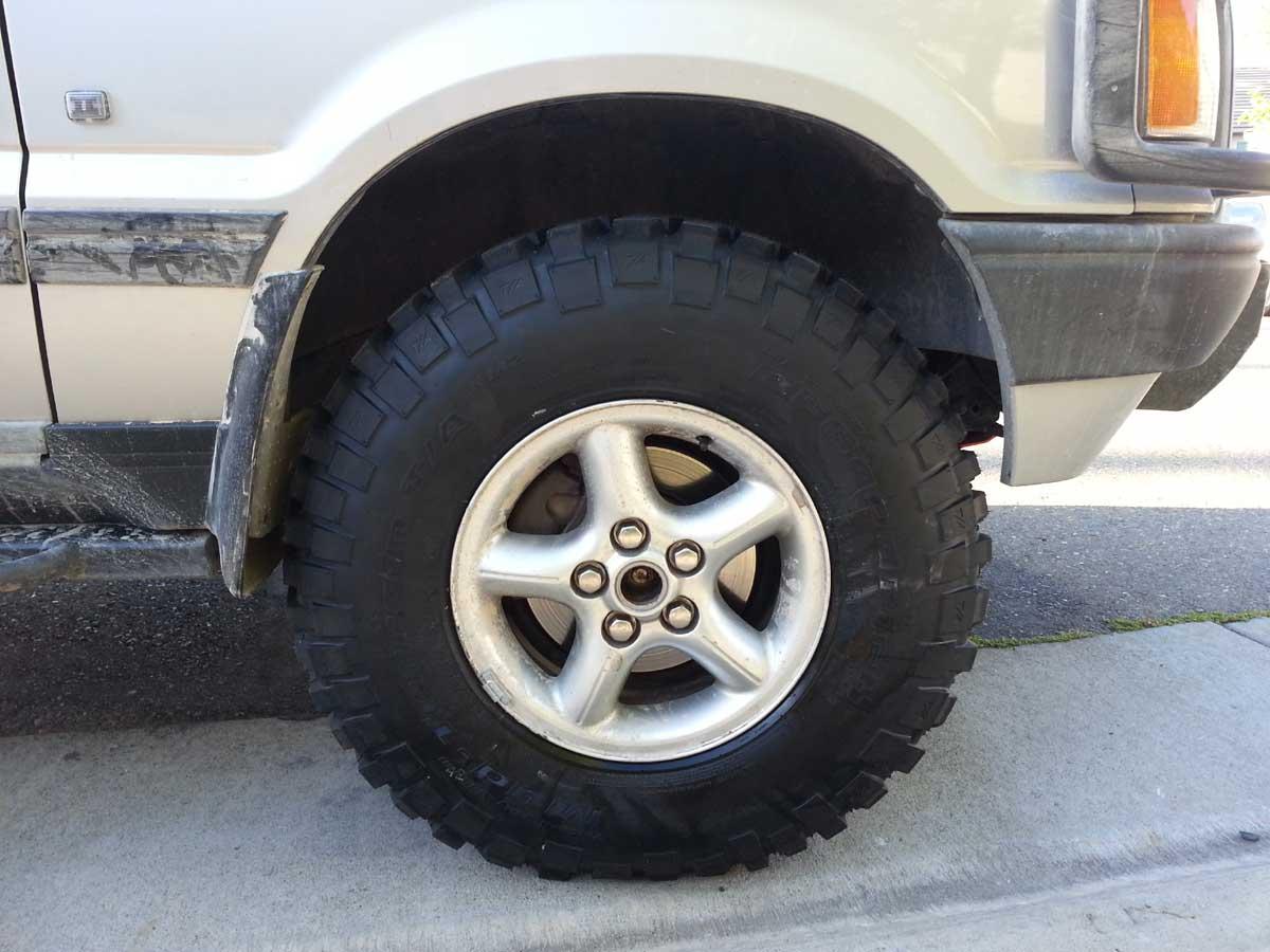 range rover p38 off road tires. Black Bedroom Furniture Sets. Home Design Ideas
